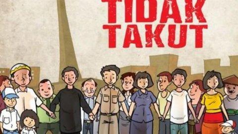 Bom di Jakarta, Rakyat Indonesia: #KamiTidakTakut
