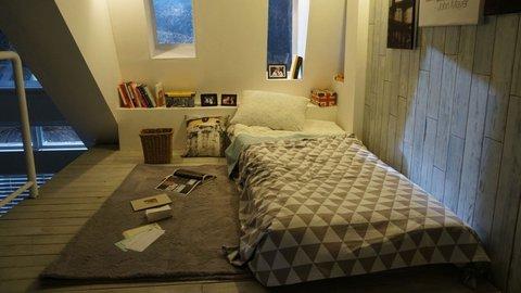 Desain Kamar Tidur Lampu Tumblr ide desain kamar kost mahasiswa yang rapi dan tertata kurio