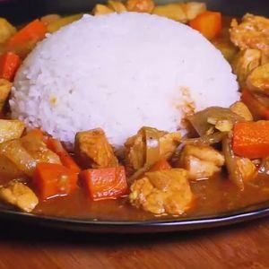 Kari Ayam Ala Jepang
