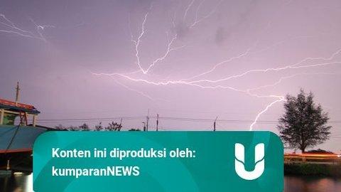 BMKG: Waspada Hujan di Jaksel dan Jaktim Berpotensi Disertai Petir