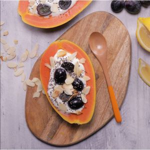 Papaya Grape Yoghurt Bowl