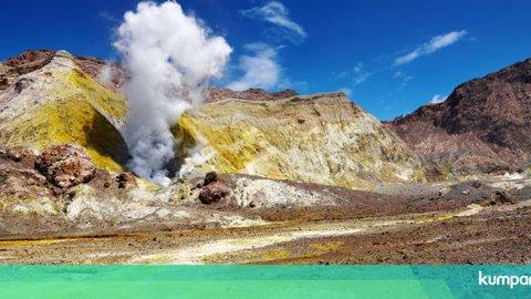 Mengenal Gunung Berapi White Island yang Meletus di Selandia Baru