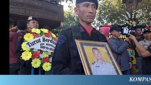 Brigpol Anumerta Hedar Dimakamkan Dekat Kuburan Kakeknya