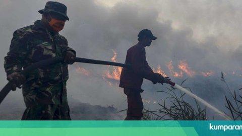 Jokowi: Hujan Buatan Berhasil Atasi Karhutla di Riau dan Kalimantan