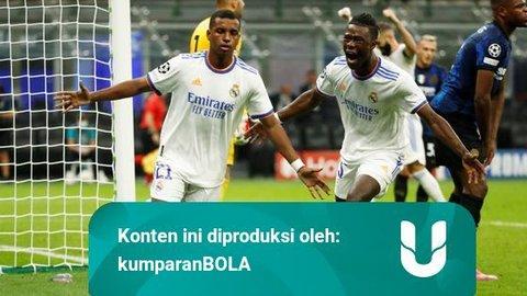 3 Pemain Real Madrid yang Tampil Ciamik saat Bungkam Inter di Liga Champions