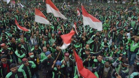 Nadiem Makarim Terima Tawaran Jokowi Jadi Menteri, Driver Ojol Ancam Demo Besar-Besaran