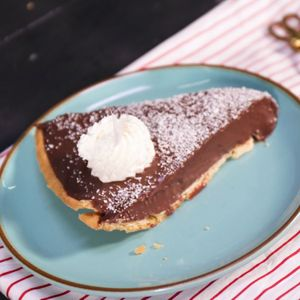 Coconut Chocolate Tart