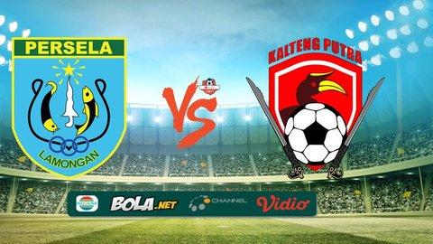 Hasil Pertandingan Persela Lamongan Kalteng Putra: Skor 3-0