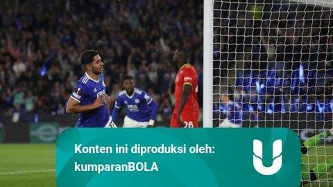 Hasil Liga Europa: Sempat Tertinggal 2 Gol, Napoli Imbangi Leicester City