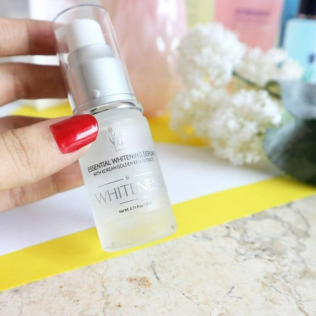 La Tulipe Essential Whitening Serum (Florent Beauty)