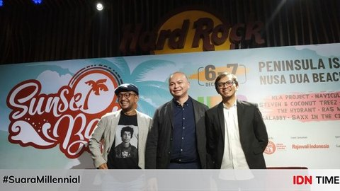 Datangkan Band Reggae Legendaris, 5 Fakta 'Sunset Bali Music Festival'