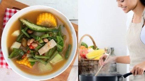 Praktis dan nikmat, ini 3 resep sayur asem dari berbagai daerah untuk keluarga