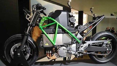 Dukung Elektrifikasi, Kawasaki Siapkan Motor Listrik Bergaya Sport