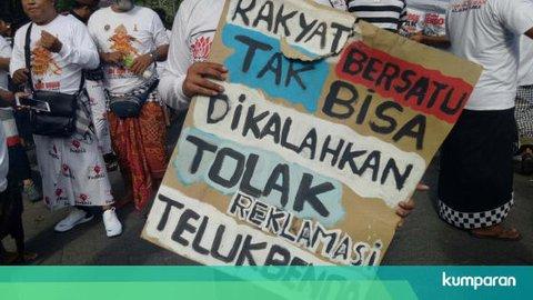 Gubernur Bali: Semua Kegiatan Reklamasi Teluk Benoa Harus Dihentikan