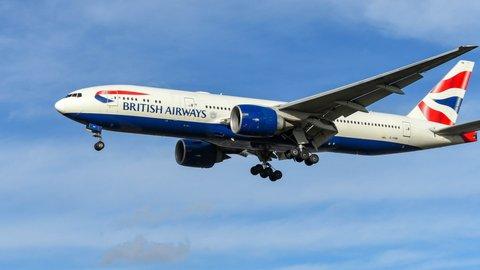Cuma 1 Penumpang Saat Terbang Perdana, Ini 5 Fakta Menarik British Airways
