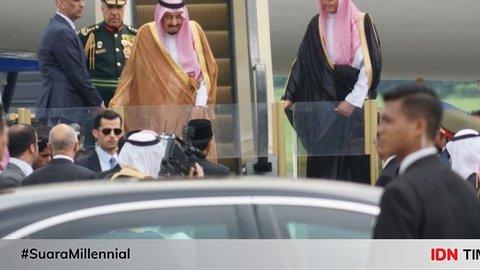 Sebelum Raja Salman, Tokoh-tokoh Dunia Ini juga Kunjungi Istiqlal