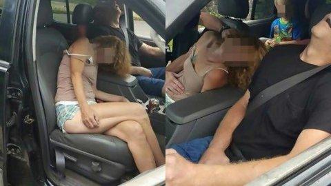 Gambar Viral Dua Orang Dewasa yang Overdosis beserta Seorang Anak Kecil di dalam Mobil