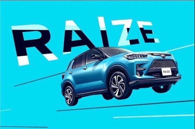 Gambar Toyota Raize yang beredar di sosial media (Instagram).