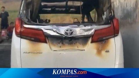 Mobil Alphard Via Vallen Sengaja Dibakar, Terduga Pelaku Siapkan Bensin dan Korek Api