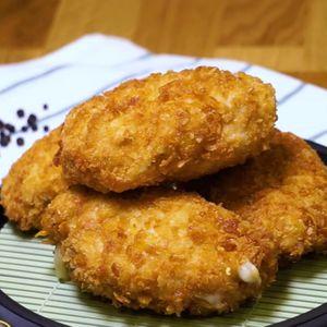 Ayam Keju Leleh