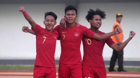 Timnas Indonesia U-19 Menang Atas Iran U-19 Lewat Gol Tunggal Sutan Zico