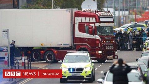 Puluhan jenazah yang ditemukan di dalam truk kontainer di Inggris berhasil diidentifikasi