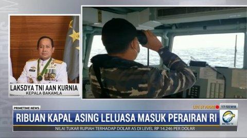 Kepala Bakamla Minta Nelayan Lapor Atas Gangguan Kapal Tiongkok