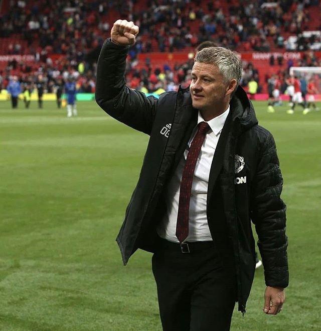 Kembali ke Old Trafford dan mencatatkan rekor pelatih MU pertama yang bisa memenangkan lima laga pertama (Instagram/@olegunnar_solskjaer20)