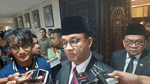 Anies Mengeluh Kendala Pembangunan Jakarta Karena Unsur Politis