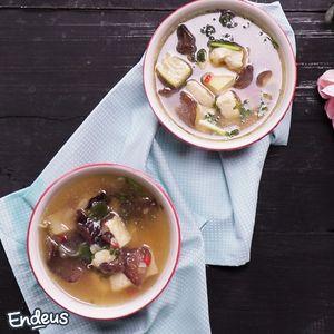 Sup Ayam Asam Pedas #4MasakanAyam