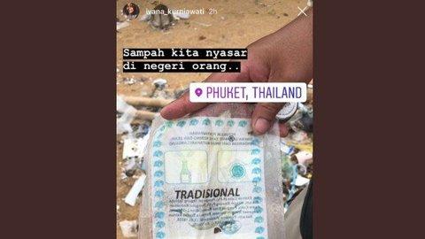 Hanyut, Sampah Plastik Asal Indonesia Ditemukan di Pantai Thailand