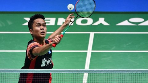 Penyebab Kekalahan Anthony Ginting di Final China Open 2019