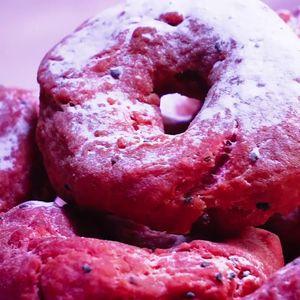 Donut Buah Naga