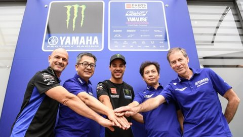 Tim Pabrikan Yamaha Umumkan Formasi Baru, Murid Rossi Dampingi Quartararo