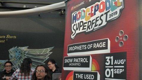 The Used siap ramaikan panggung Hodgepodge Superfest 2019