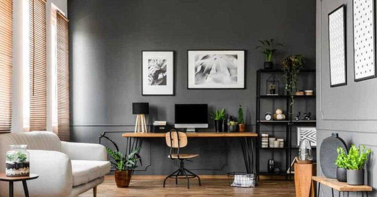 Rekomendasi Warna Cat Tembok untuk Home Office Agar Lebih ...