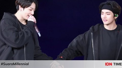 Menggemaskan! Ini 10 Momen Kebersamaan V & Jungkook BTS Sepanjang 2019