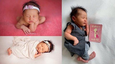 9 Potret Menggemaskan Khalisa Aghnia Bahira, Anak Pertama Kartika Putri dan Habib Usman Bin Yahya