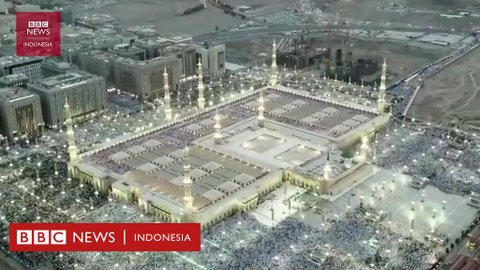 Tujuh fakta Masjid Nabawi, tempat suci umat Islam berusia 1400 tahun