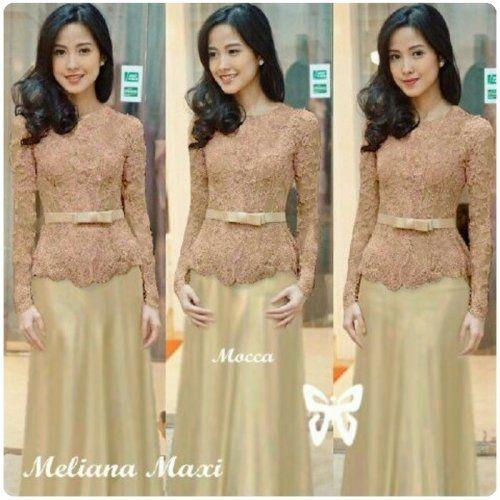 Hasanah Fashion menghadirkan Meliana Dress Brokat. Dress ini sangat nyaman ketika digunakan dan terbuat dari