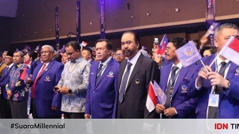Surya Paloh Sebut Partai Nasionalis tapi Tak Pancasilais, Sindir PDIP?
