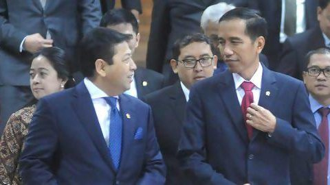 Saat Jokowi guyon 'papa minta saham' sindir Setya Novanto