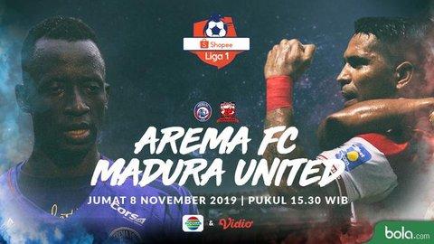 Duel Antarlini Arema FC vs Madura United: Momen Bangkit Tanpa Sejumlah Pilar