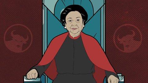 Mega di Atas Angin: Saat Emak Banteng 'Mengamuk' di Kongres PDIP