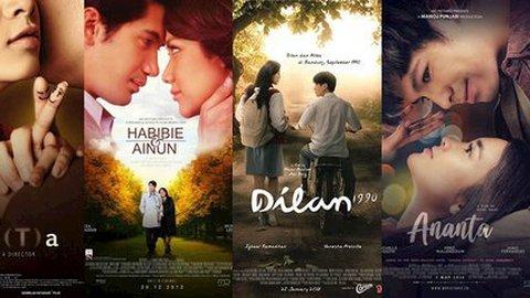 20 Pasangan di Film Indonesia Paling Romantis, mana Yang