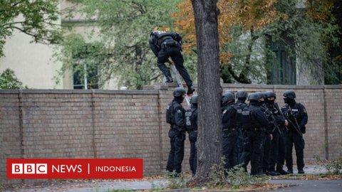 Penembakan sinagoge di Jerman: Dua orang tewas dalam serangan yang sempat disiarkan di internet
