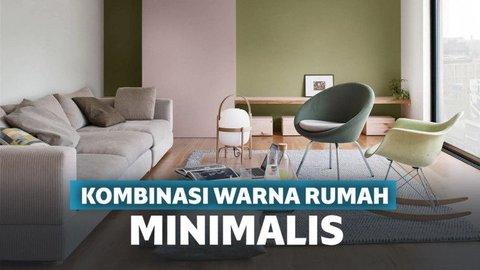 Kombinasi Warna Cat Rumah Hijau Tua  bikin elegan 16 kombinasi warna cat rumah minimalis yang