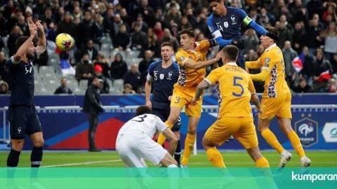 Prancis Raih Tiket ke Piala Eropa 2020, Portugal Lumat Lithuania 6-0
