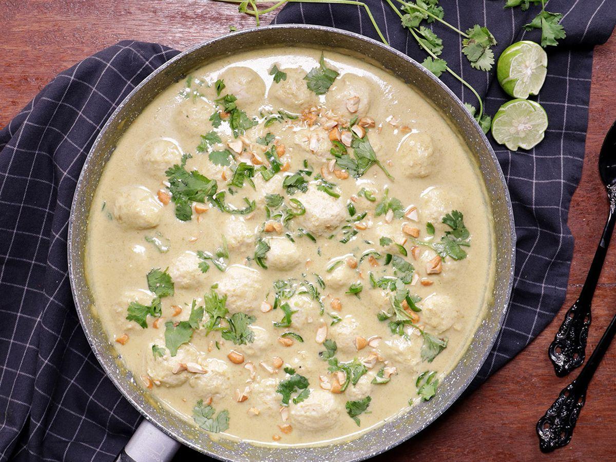 Resep Bakso Ayam Kuah Green Curry