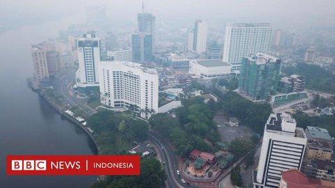 Kabut asap 'mengancam kesehatan', lebih dari 400 sekolah di Malaysia diliburkan